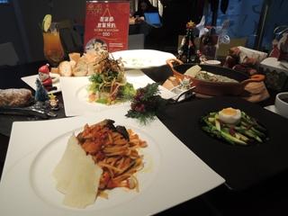 佛教餐廳顛覆傳統 推出素食聖誕大餐