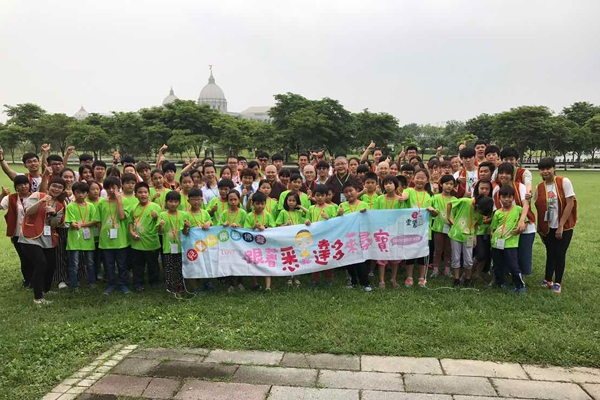 台南兒童快樂學佛營 26位學童學習五德思維 體驗寧靜行禪