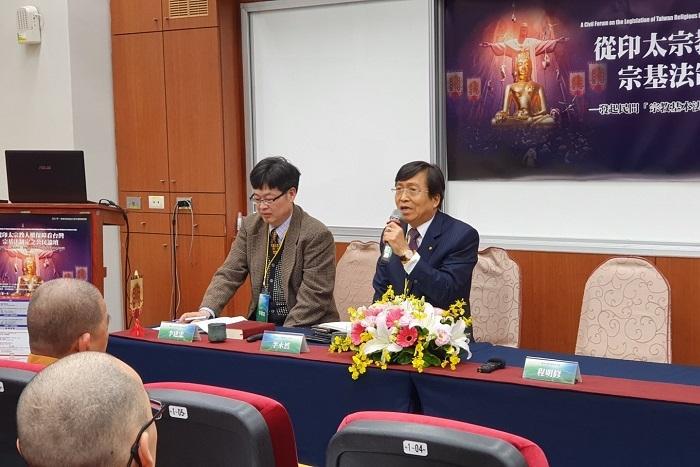 保障宗教自由 李永然律師催生宗基法